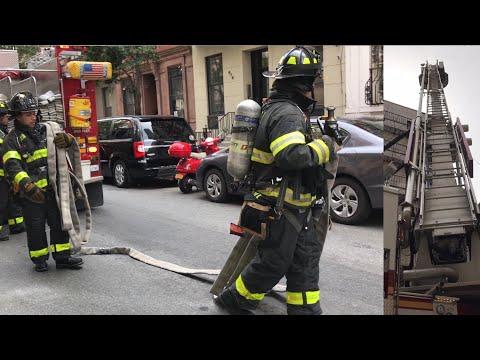 | FDNY Manhattan Box 1176 | Fire on the Fire-Escape Extends Inside