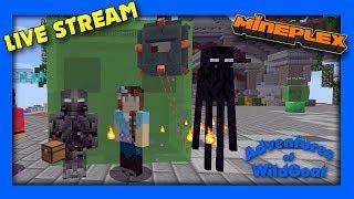 Thursday Mini Games FUN!  - LIVE Stream - Mineplex