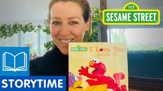 Sesame Street: I Love You Just Like This | Story Time with Gorgi Coghlan