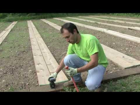 Come fare un orto: impianto d'irrigazione