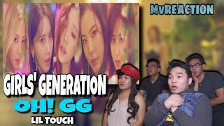 GIRLS' GENERATION-OH!GG (소녀시대-Oh!GG) - LIL' TOUCH (몰랐니) | Mv REACTION - Stafaband