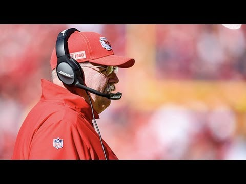 Chiefs head coach Andy Reid addresses the media following Chiefs loss to Texans