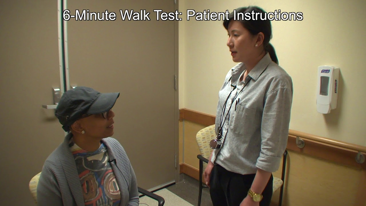 Iwalk Administration Of The 10 Metre Walk Test And 6 Minute Walk Test Post Stroke