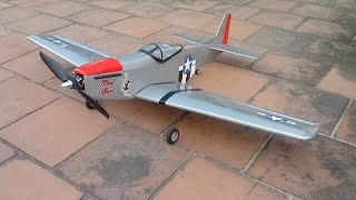 Scratch built RC P-51D Mustang from Royal / Marutaka plans