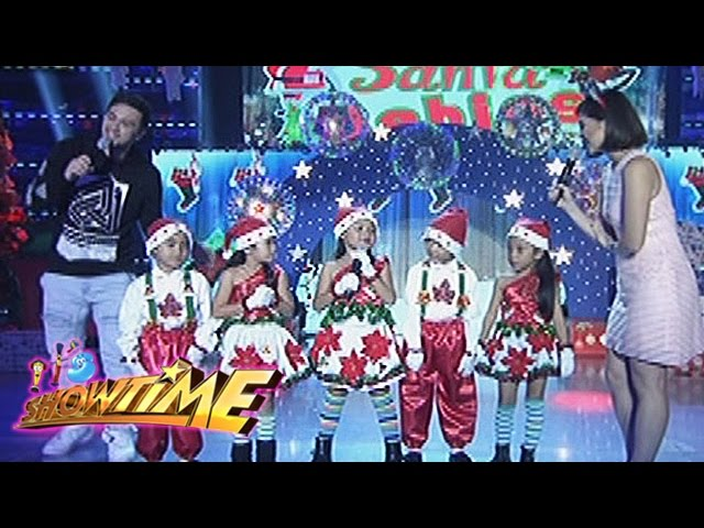 It's Showtime: Why do kids sing Christmas carol?