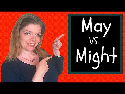 May vs Might : How To Use May and Might in English Grammar!   /   May vs Might:英文法でMayとMightを使用する方法!