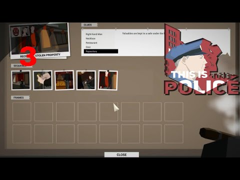 Let's Play This Is The Police Part 3 Investigation  Receiving Stolen Property Red Mask Gang