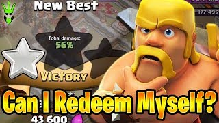 I CHOKED! Can I Redeem Myself? - Intense Close War! - Clash of Clans - Live War Attacks