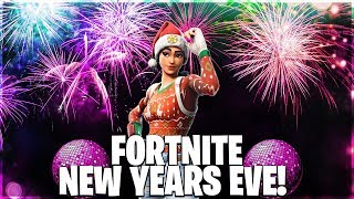 Fortnite new years eve stream countdown! Use code x-ghosty-x +new years event!