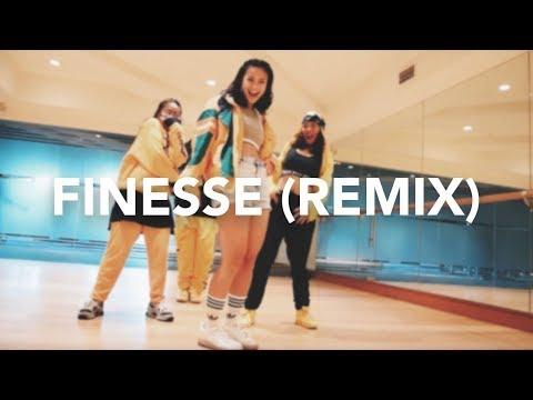 Finesse (Remix) - Bruno Mars ft. Cardi B (Dance Cover)   Hannah Kathleen w/ Allstars