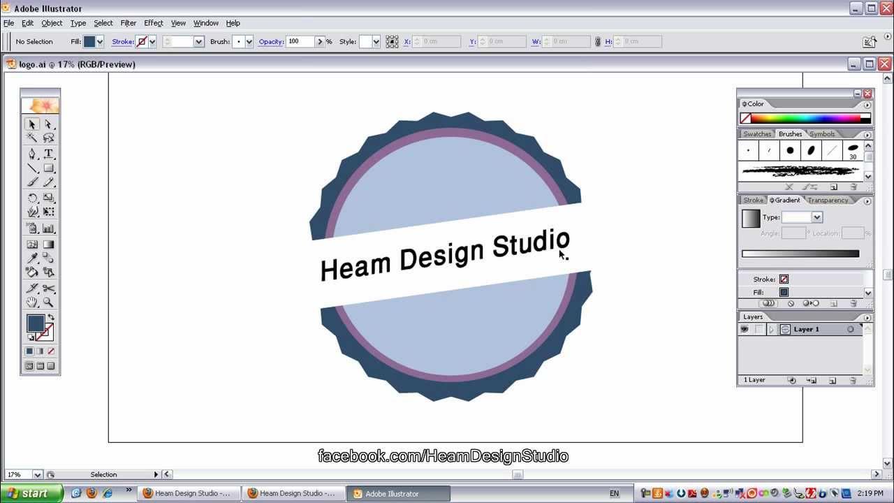 آموزش ویدئویی طراحی لوگو با برنامه Adobe Illustrator     - YouTubeآموزش ویدئویی طراحی لوگو با برنامه Adobe Illustrator