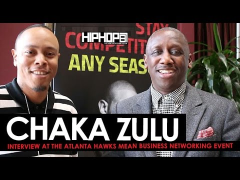 Chaka Zulu Talks Success, Building An Empire & More at Atlanta Hawks Mean Business Networking Event