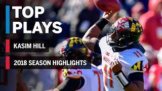 Season Highlights: Maryland QB Kasim Hill Out with ACL Tear | Big Ten Football
