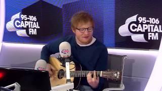 Ed Sheeran - Shape Of You Live On Capital FM HD 01/09/2017