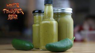 Jalapeno Hot Sauce  Picante Salsa Verde Recipe