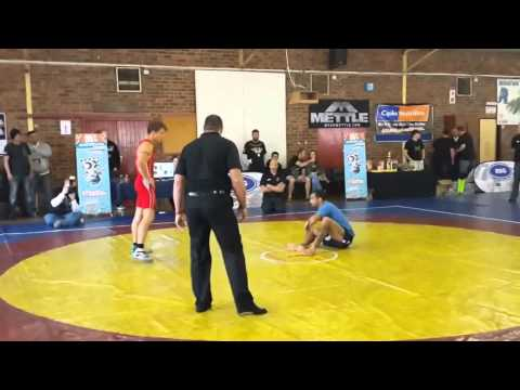 Monster Clash 1 - Jadyson Costa (BJJ Black Belt) Vs Wian Human (SA Greco-Roman Champ)