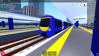 Roblox Mind the Gap Trains at... #1 Lonchester Isembard (7.02.18r.)
