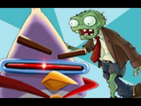 Angry birds space vs plants vs zombies youtube angry birds space vs plants vs zombies voltagebd Images