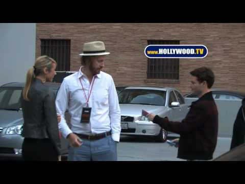 Christopher Masterson And Stacy Keibler At The Standard