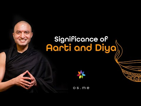 Significance of Aarti and Diya [Hindi with English CC]
