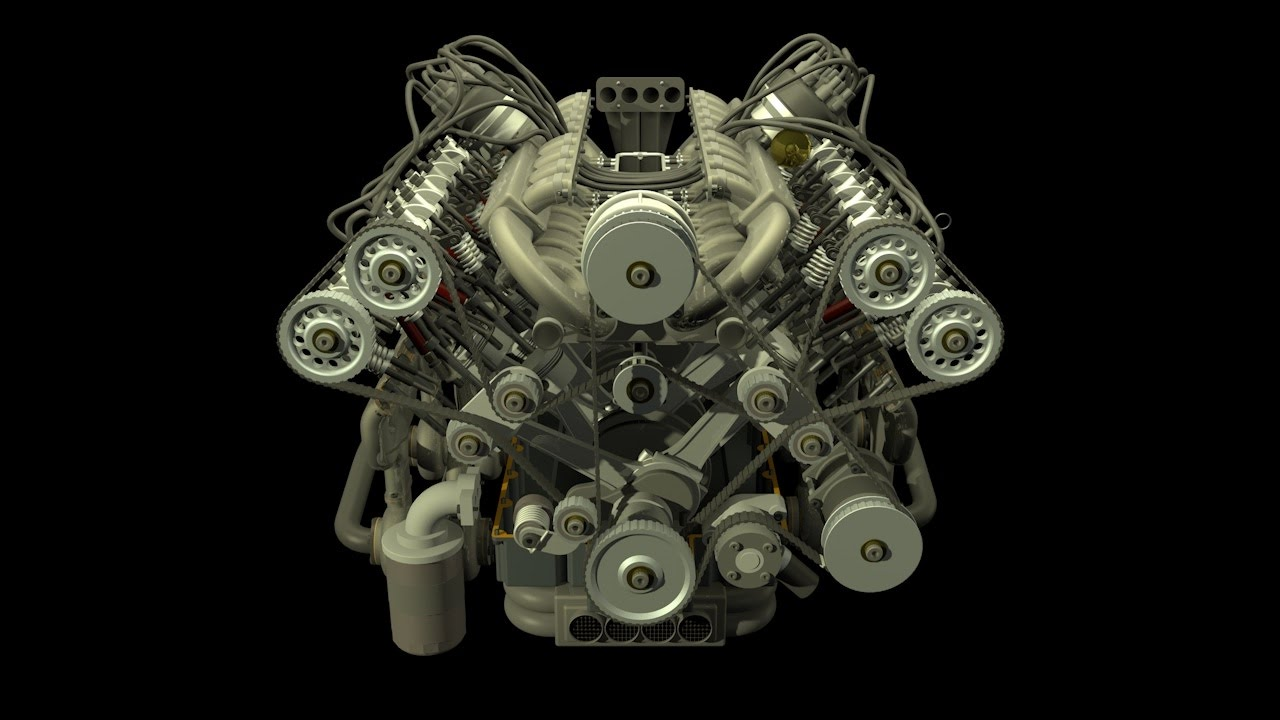 w16 engine animation youtubeW16 Engine Diagram W16 Free Engine Image For User Manual Download #14