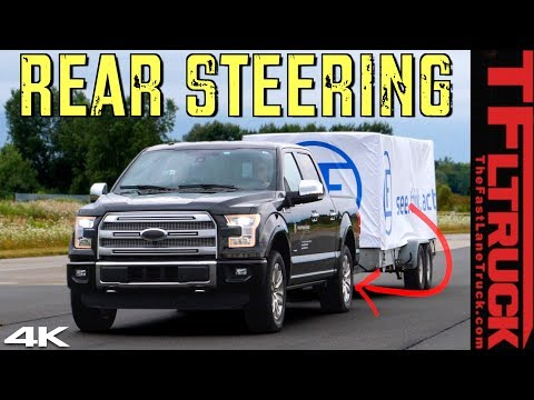 EXCLUSIVE! Is This The Future Of Trucks? We Put Rear Wheel Steering Through a Battery of Tests!