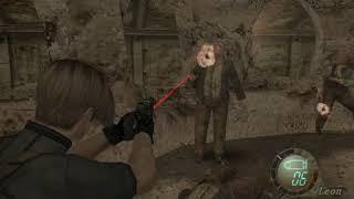 Resident Evil 4 Part 13 Dando uma volta de carinho