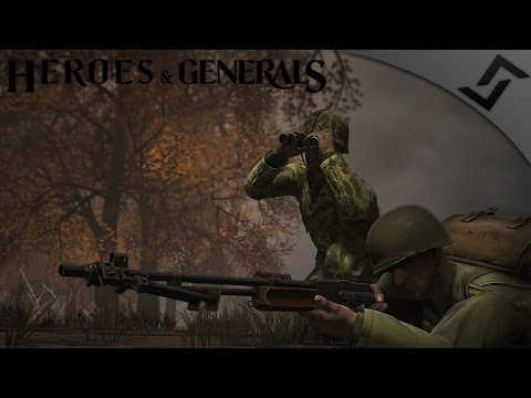 M1918 BAR Medic - Heroes and Generals - US Infantry Gameplay