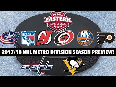 2017/18 NHL Metro Division Season Preview!