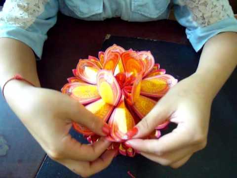 VIDEO: 摺紙教學(祭拜往生者紙蓮花的摺法一)