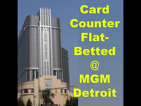 MGM GRAND DETROIT Casino BREACH CONTRACT WITH CARD COUNTER  at Blackjack