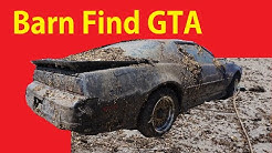 Cleaning Yard Barn Find Detail Cars Old Car Trans Am Part #2