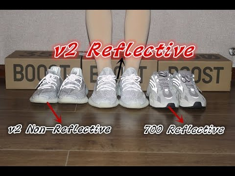 74a3440f21e08 Comparison for 2 Yeezy 350 V2 Static and Yeezy 700 Static From beyourshop.ru