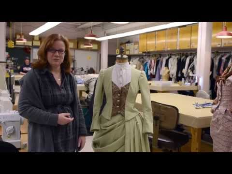 Dressing In the Next Room, or inside the costume shop