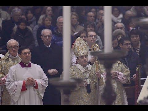 25 dicembre 2017 Duomo di Milano - Pontificale di Natale (Chiesa TV canale 195)