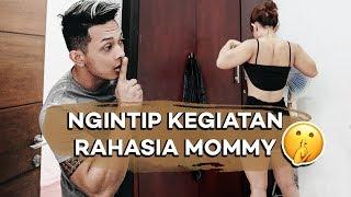 TARUH KAMERA TERSEMBUNYI BUAT REKAM KEGIATAN MOMMY !!!