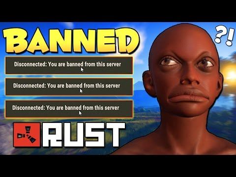 BANNED FOR CHEATING - Rust Funny Moments