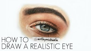 TUTORIAL: How to Draw a Realistic Eye in Color