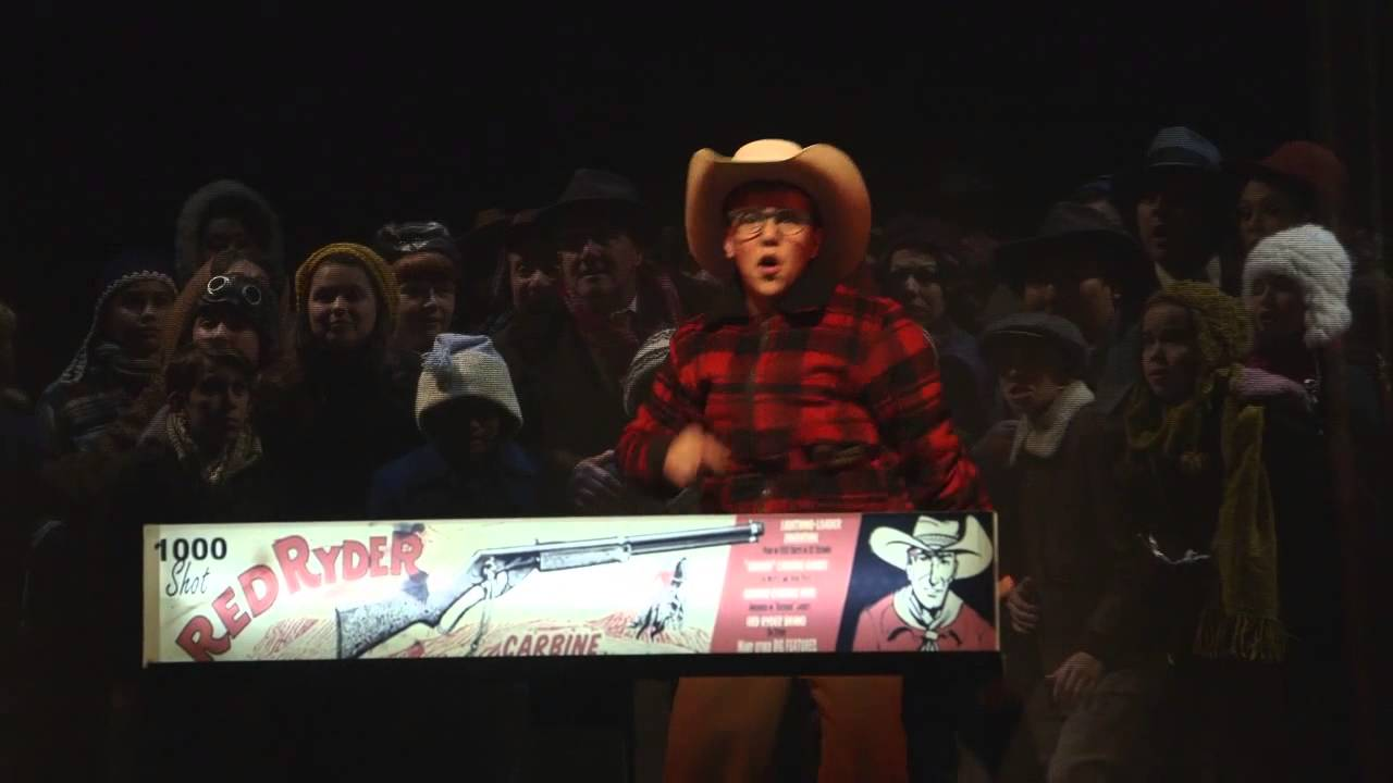 red ryder carbine action bb gun a christmas story the musical paramount theatre