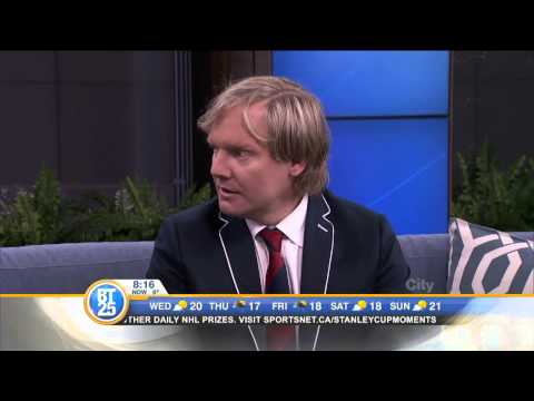 "Nova Scotian actor Jonathan Torrens tells us about his new TV  ""Game On"""