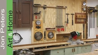How To Make Clamp Racks & Organize the Shop.