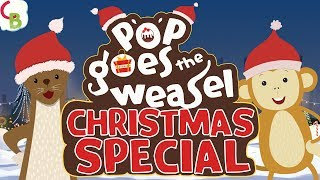 Pop Goes The Weasel Christmas Song for Kids - Christmas Dance and Music
