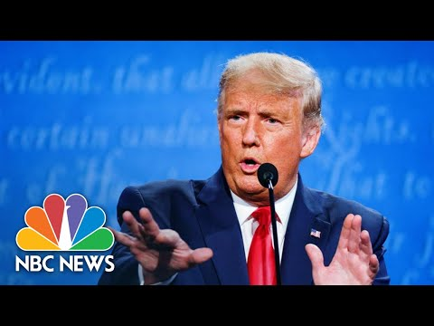 Trump Says Biden Would 'Destroy' Oil Industry | NBC News