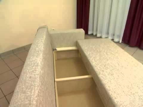Угловой диван на кухню - YouTube