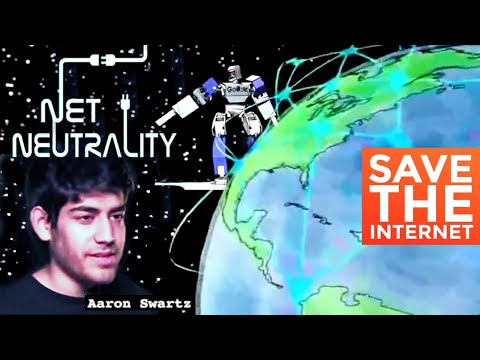 Net Neutrality feat. Aaron Swartz. This is the Battle for the Net.