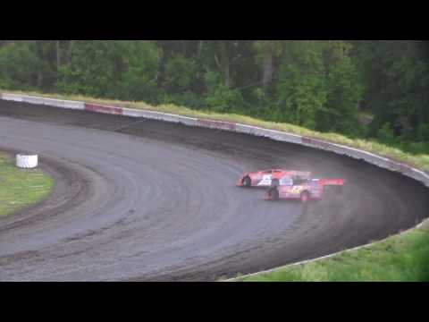 Late Model Heat 1 @ Hamilton County Speedway 06/10/17