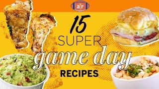 15 Super Recipes for Game Day Football Game Menu Allrecipes com