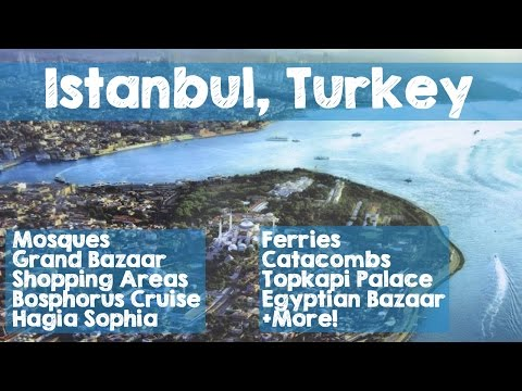 Istanbul: Full Travel Documentary Guide with Must See Destinations Around Turkey's Largest City!