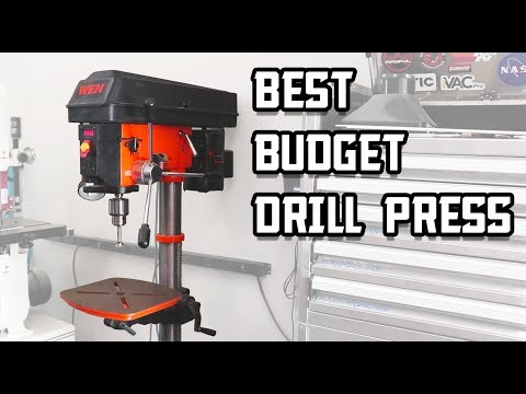 Great Budget Drill Press: WEN 4225 Review!