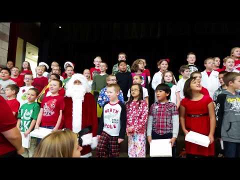 Neil Armstrong Academy third grade Christmas perfo